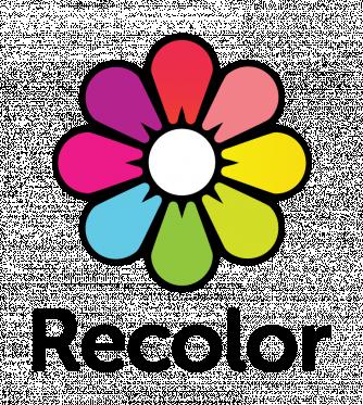 Recolor logo black text bottom