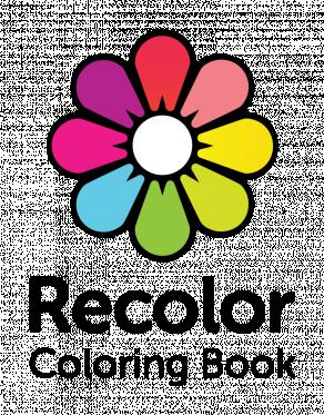 Recolor logo black text bottom tagline