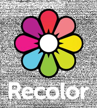 Recolor logo white text bottom