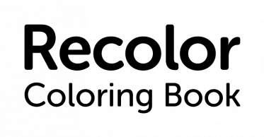Recolor logotype black text tagline