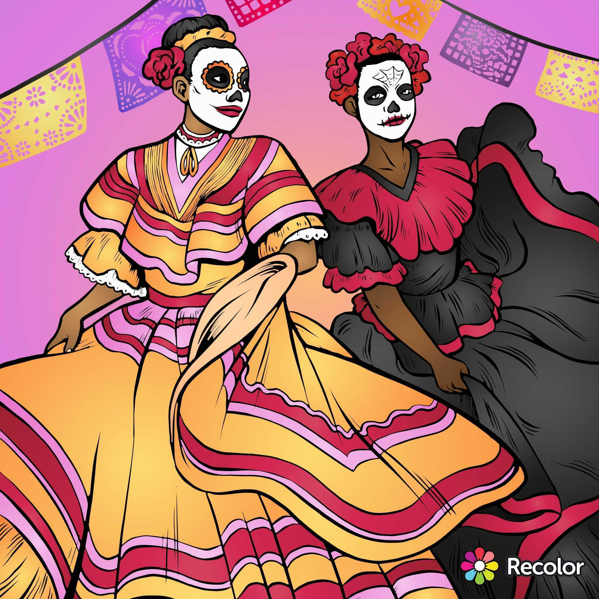 Día de los Muertos, the colorful Day of the Dead!